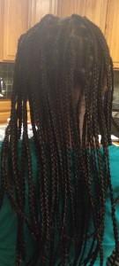 braids get unbraided